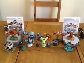 Skylanders Giants and swap force for wii
