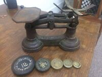 Antique Grocer Scales