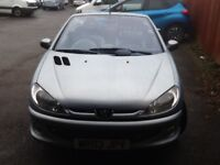 Peugoet 206cc only 95338 miles