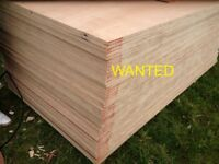 PLYWOOD 8X4 SHEETS