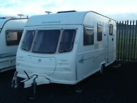 2001 AVONDALE dart 475/4 berth end changing room with fitted mover & awning