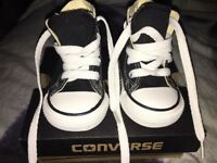 Brand new infant size 3 converse
