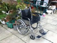 WHEELCHAIR SELF PROPELLED EXTRA WIDE MADE BY INVACARE
