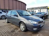 **CHEAP AUTOMATIC** FORD FOCUS ZETEC AUTO 1.6 (2004) - 3 DOOR - LONG MOT- 2 KEYS - HPI CLEAR!