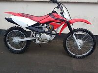 HONDA CRF100F 2007 MODEL IMMACULATE CONDITION (ORIGINAL GENUINE CLEAN BIKE)
