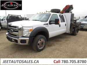 2012 Ford F-550 XLT 4X4 Picker Crane