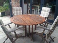 Neptune Classic Teak Garden Furniture Set