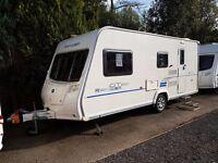 2011 Bailey Ranger GT60 510 4 berth caravan MOTOR MOVER, AWNING, VGC,BARGAIN !