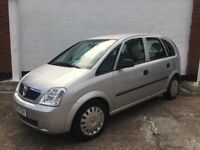 Vauxhall Meriva Life 1.4ltr 2005 good service history and new mot, lovely condition.