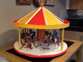 Scratch built carrousel