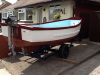 Fishing / Day Boat, Trailer and Engine