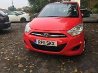 Hyundai i10 *4500* miles 12 months mot full service history cheap car not renault clio or ford ka