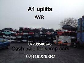 !!!!Scrap Cars Wanted !!!!