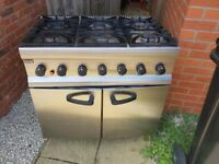 Lincat 6 burner Gas oven