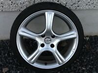 17INCH 4/108 FOX PEUGEOT CITREON ALLOY WHEELS WITH TYRES FIT MOST MODELS & FORD