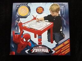 "SPIDERMAN colouring table ""NEW"""