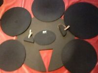 One rock set of silencer pads