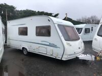 2006 Sterling Eccles Moonstone 4 berth caravan Light to tow AWNING BARGAIN !