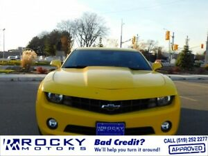 2011 Chevrolet Camaro - BAD CREDIT APPROVALS