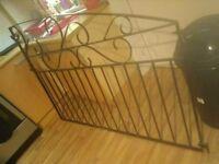metal garden gates x2