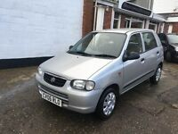 Suzuki Alto 1.1ltr 59k good svs history fresh service new mot ONLY £30 a year tax **REDUCED**