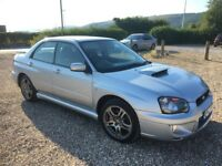 subaru impreza 2.0 wrx turbo pro-drive 2005/55 plate with 121k and a november 2018 mot..