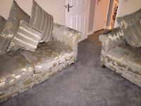 2x3 seater couch sofa settee