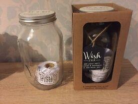 Wedding Wish Jars x2