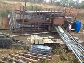 Scaffold and extras