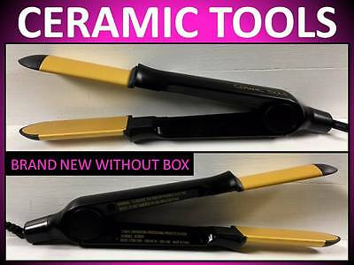 "NEW!! CERAMIC TOOLS BY BABYLISS PRO 1"" STRAIGHT N SMOOTH 392° FLAT IRON / NO BOX"