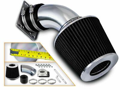 BCP BLACK 1992-1995 BMW 318 318i 318is 318ti 1.8 4cyl Ram Intake kit+ Air Filter