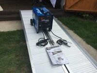 BRAND NEW - 2 MONTHS OLD - NEVER USED - DRAPER 200AMP ARC WELDER - HALF PRICE OF £200 NO OFFERS