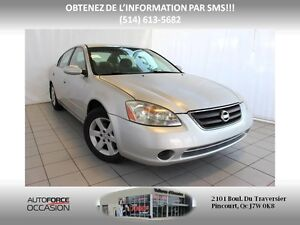2002 Nissan Altima 4CYL AUT AC MAGS TOUTE EQUIPE 4CYL AUT AC MAG
