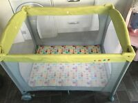 MOTHERCARE TRAVEL COT *now sold* pending collection