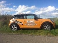 Automatic Driving Lesson, Inverness, Beauly, Dingwall