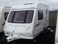 2007 elddis AVANTE 362/2 berth with fitted mover & awning