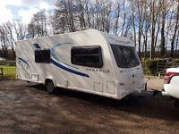 2013 Bailey Pegasus Milan 4 berth caravan MOTOR MOVER, AWNING, VGC,BARGAIN !