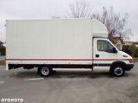 man with large van