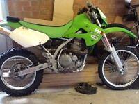VERY RARE Kawasaki KLX 650R, better than Honda xr650r