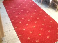 Wool and mixed fibre carpet rug 147cm x 265cm-used only for 2weeks-excellent condition