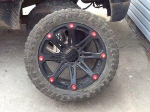 """22""""x9.5"""" Ballistic Jester wheels"""