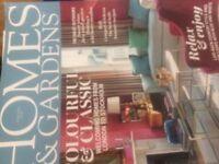 Homes & Gardens magazines