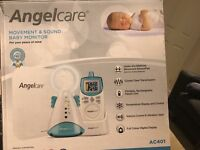 Brand new angel care movement and sound montior
