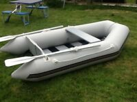 Inflatable Tender boat for sale. Perfect condition, only used twice and under 2 years old.