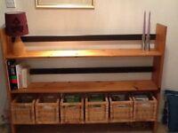 Bookcase - pine Habitat