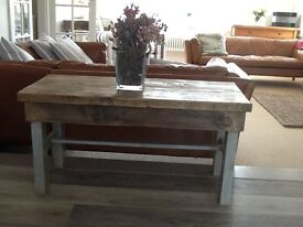 Beautiful Shabby Chic Style Coffee Table