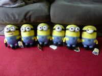 Dispicable2 plush Minions.