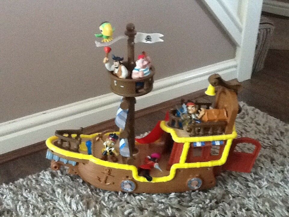 Jake and the Pirates toy ship