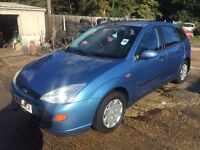 ** NEWTON CARS ** 00 W FORD FOCUS 1.8 LX, 5 DOOR, ATI, HIGH MILES, MOT JUL 2017, P/EX POSS, CALL US