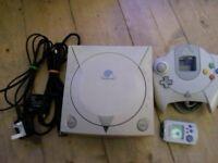 Sega Dreamcast excellent condition perfect working order RETRO NINTENDO GAMEBOY ATARI